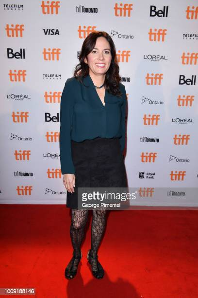 Danis Goulet attends Toronto International Film Festival 2018 Canadian Press Conference held at Fairmont Royal York on August 1 2018 in Toronto Canada