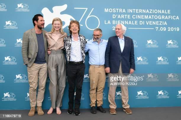Danish actor Claes Bang, Ausralian actress Elizabeth Debicki, British musician, singer and actor Mick Jagger, Italian director Giuseppe Capotondi and...