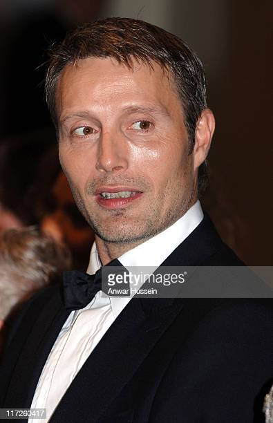 Danish actor Mads Mikkelsen attends the Royal Premiere for the 21st Bond film Casino Royale at the Odeon Leicester Square on November 14 2006