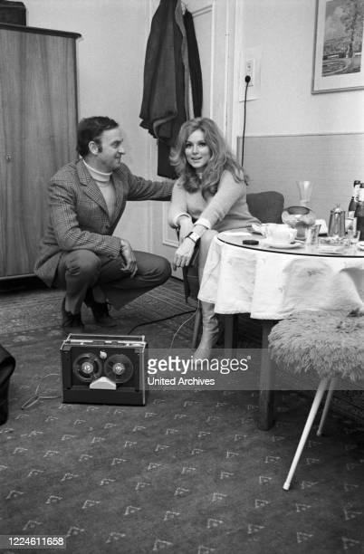 Danish actress Ann Smyrner, Germany, 1960s.