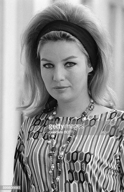 Danish Actress Annette Stroyberg in Paris France in May 1964