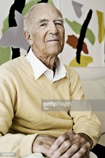 IPTC Danish architect Jorn Utzon poses for the photographer in his home in Elsinore on this April 4 2007 file photo Utzon who died November 29 2008...