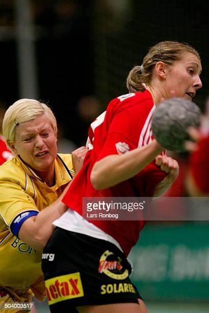 Danish Championships final Bojana Petrovic Slagelse Kristine Andersen Ikast/Bording