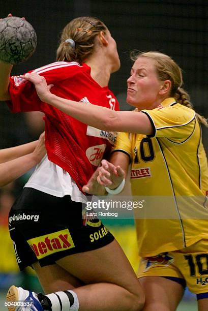 Danish Championships final Bojana Petrovic Slagelse Line Daugaard Ikast/Bording