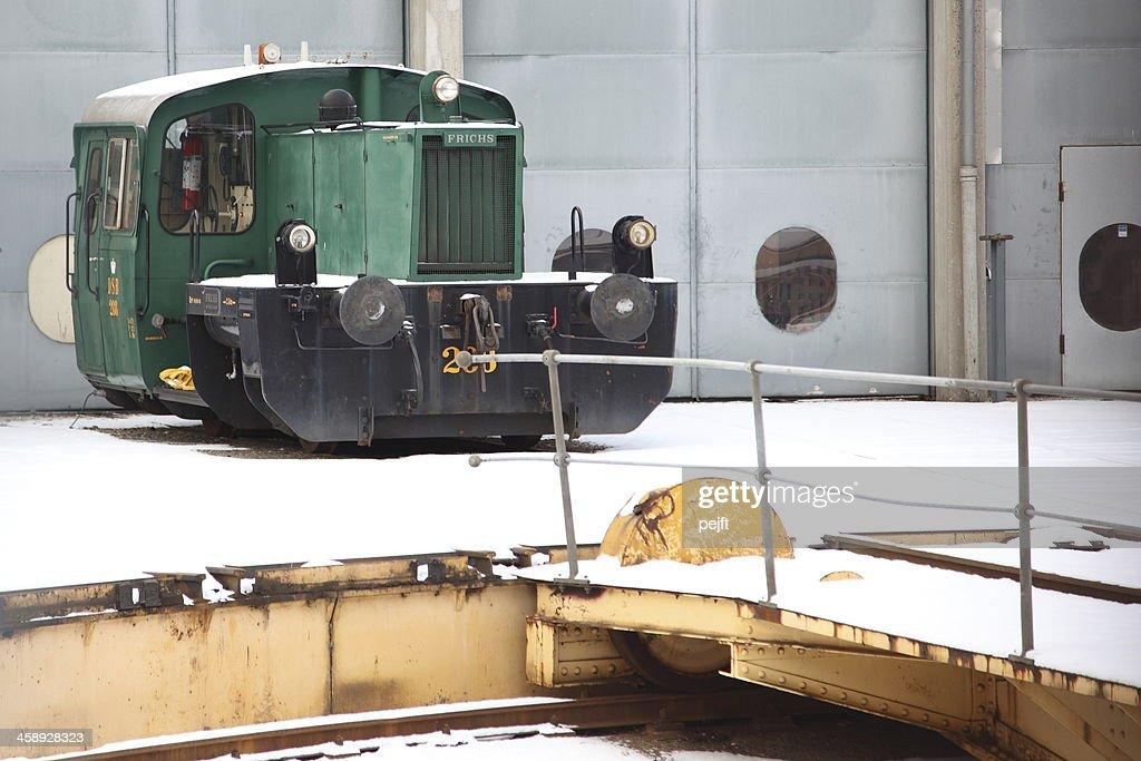 Dänische Klasse Köf Rangierer Lokomotive : Stock-Foto