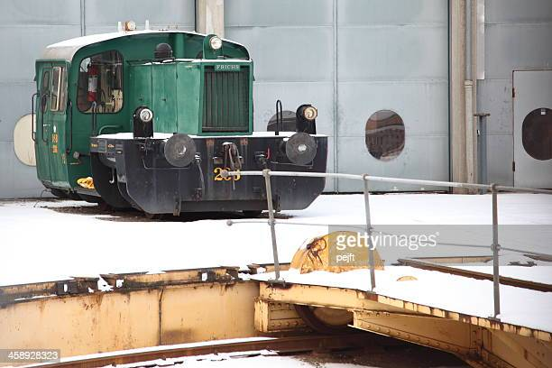 danish class köf shunter locomotive - pejft stock pictures, royalty-free photos & images