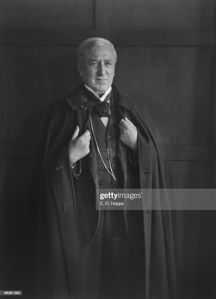 Danish composer Valdemar Fini Henriques , circa 1925. News Photo ...
