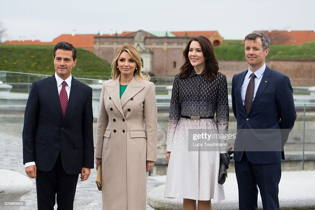 Visit From The United Mexican StatesTo Denmark - Day 1 : News Photo