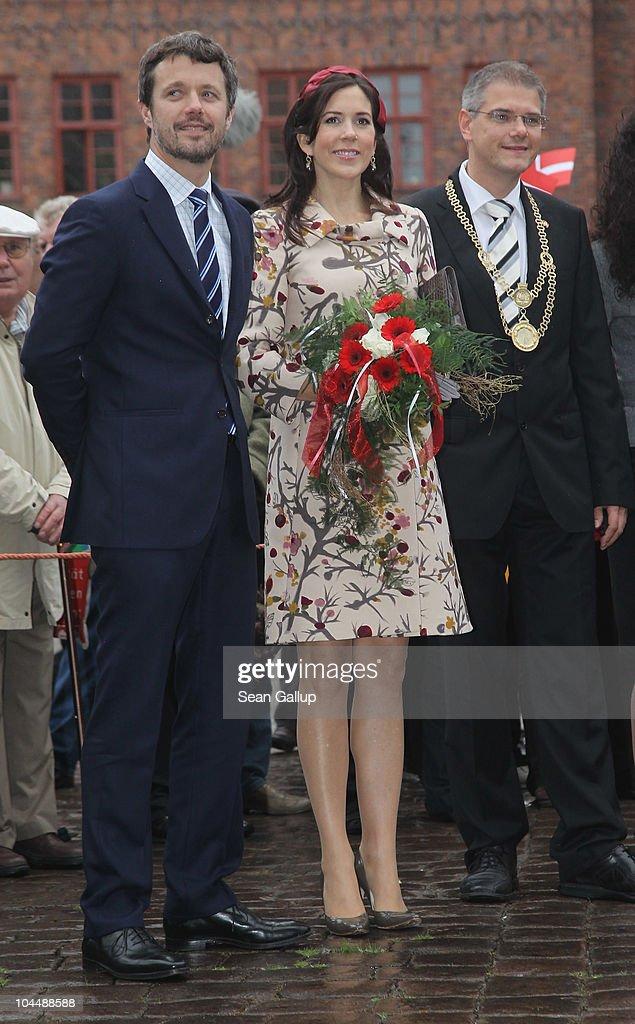 Danish Crown Prince Couple Visit Germany