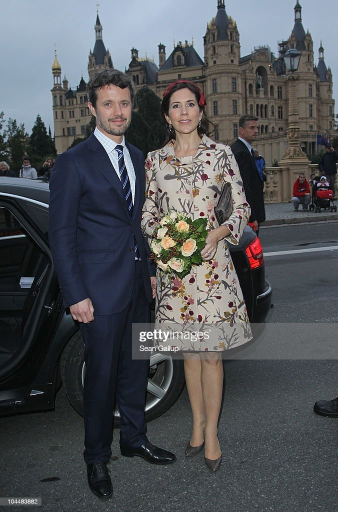 Danish Crown Prince Couple Visit Germany : News Photo