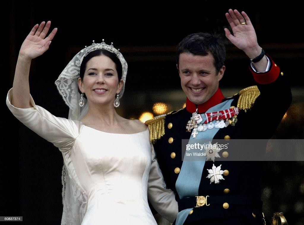 Wedding Of Danish Crown Prince Frederik and Mary Donaldson : News Photo