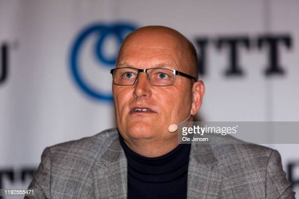 Danish cycling icon Bjarne Riis announces during a press conference that he has reached agreement with the South African NTT Pro Cycling team about...