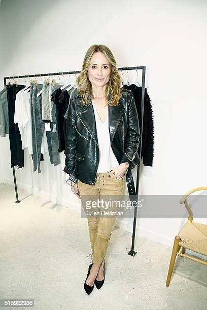 Danish Designer Anine Bing attends her Store Opening as part of the Paris Fashion Week Womenswear Fall/Winter 2016/2017 on March 5 2016 in Paris...