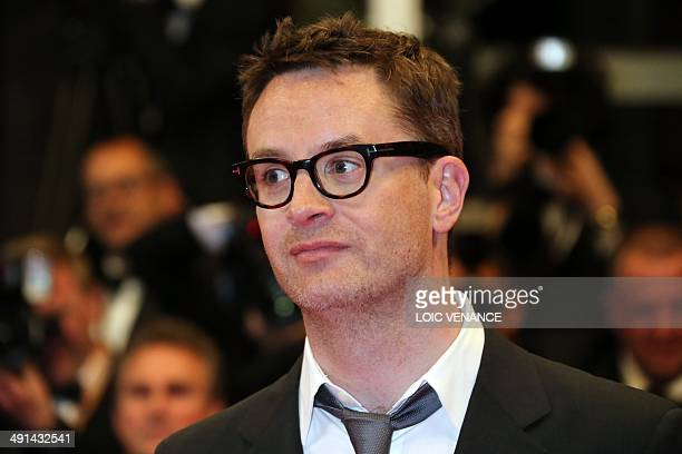 """Danish director and member of the Feature films Jury Nicolas Winding Refn poses as he arrives for the screening of the film """"Captives"""" at the 67th..."""