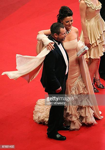 Danish director Lars Von Trier and his wife Bente Froge arrive for the screening of his movie Antichrist in competition at the 62nd Cannes Film...