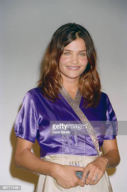 Danish fashion model Helena Christensen at the Elle Magazine Style Awards at Sound Republic in Leicester Square London 17th September 1998