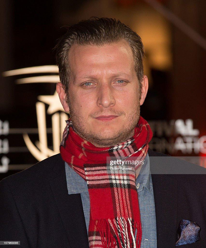 Danish Film Director Tobias Lindholm attends the 12th International Marrakech Film Festival on December 7, 2012 in Marrakech, Morocco.