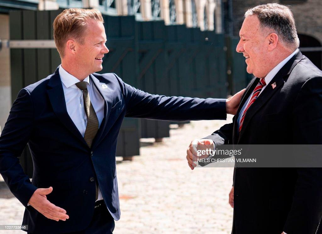 DENMARK-US-POLITICS-DIPLOMACY-POMPEO : News Photo