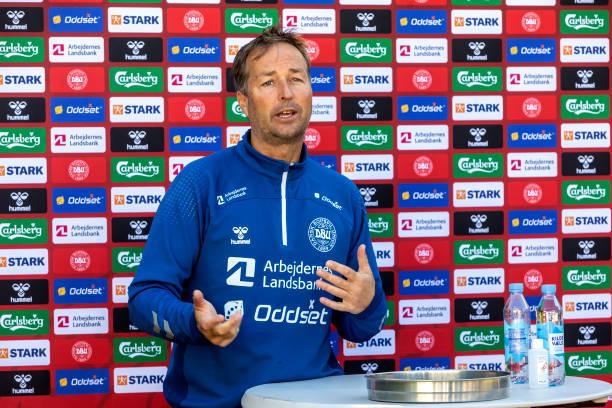 DNK: Denmark Press Conference - UEFA Euro 2020: Group B