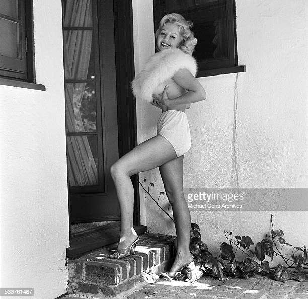 Greta Thyssen Stock Photos And Pictures Getty Images
