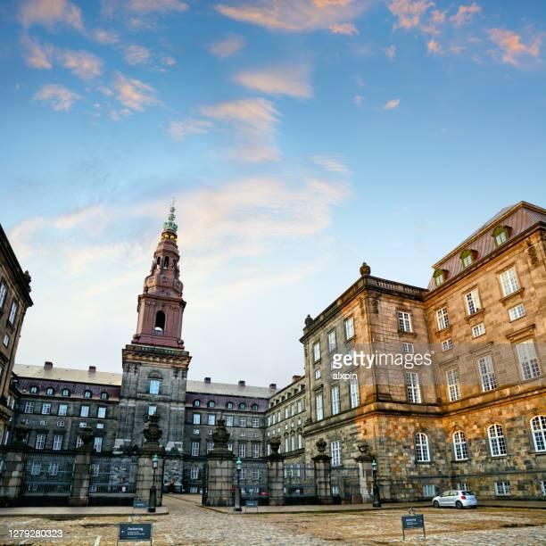 デンマーク議会, コペンハーゲン - クリスチャンスボー城 ストックフォトと画像
