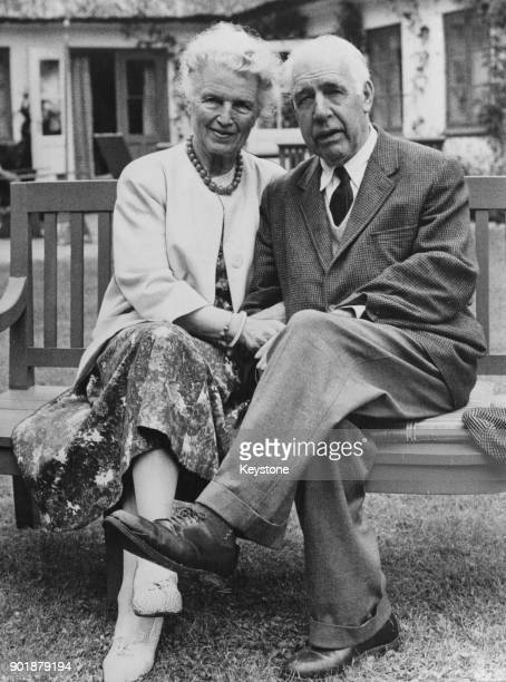 Danish physicist Niels Bohr and his wife Margrethe celebrate their Golden Wedding Anniversary Denmark 1st August 1962