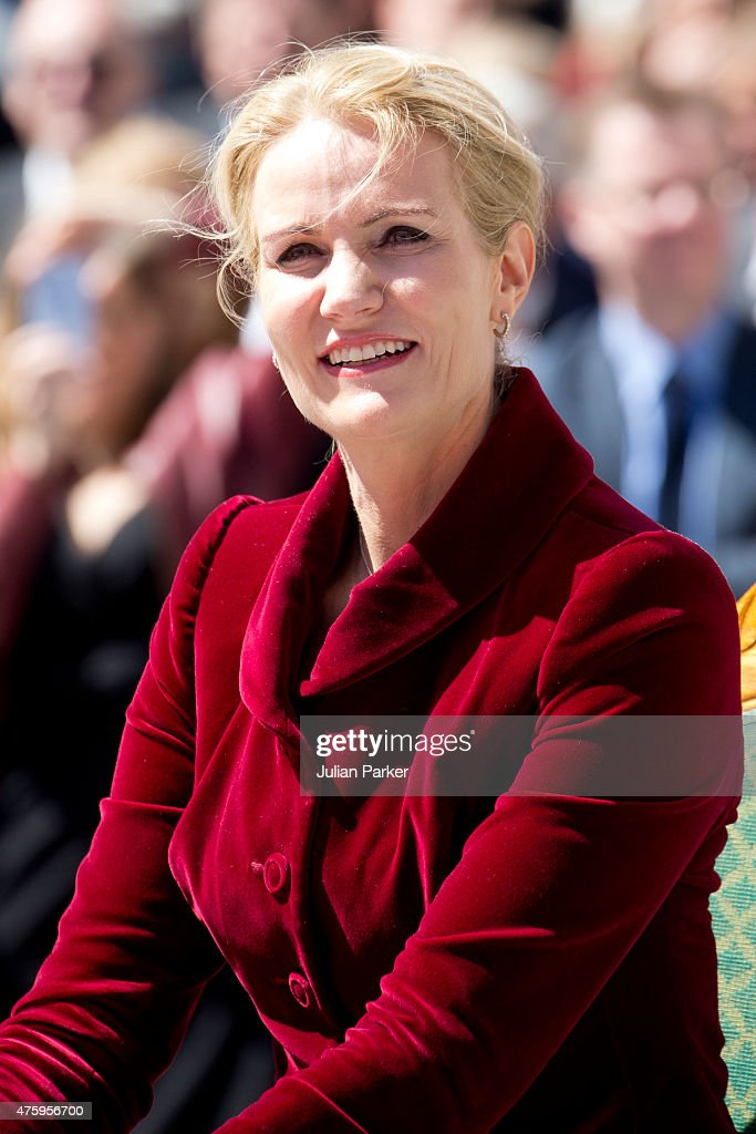 Danish Prime Minister Helle Thorning-Schmidt at Christiansborg Palace on the occasion of The 100th Anniversary of The 1915 Danish Constitution, on June 5th, 2015 in Copenhagen, Denmark
