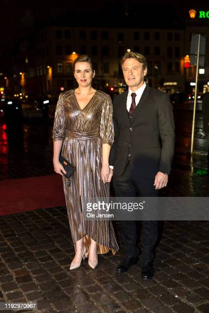Danish Prime Minister Mette Frederiksen and partner arrive to participate at a Gala Performance celebrating the Centennial Year of the Reunification...
