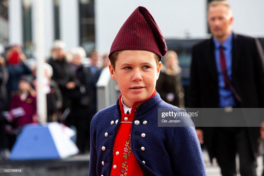 Danish Royal Family Visit The Faroe Islands In The North Atlantic : Nachrichtenfoto