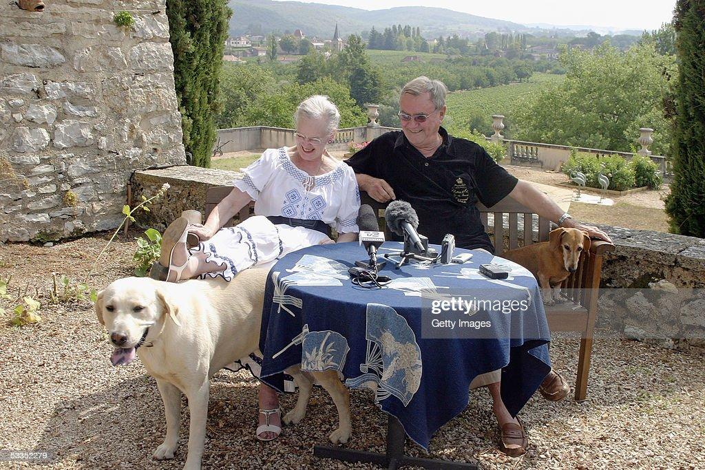 Danish Royals Enjoy Summer Vacation : News Photo