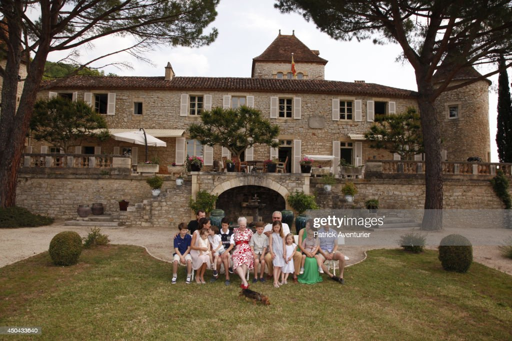 Prince Henrik Of Denmark, HRH The Prince Consor's Celebrates Its 80th birthday At Chateau De Cayx : News Photo