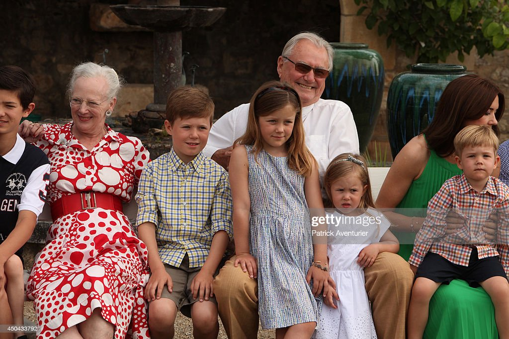 Prince henrik of denmark hrh the prince consors celebrates its danish royal family of denmark attends a photocall at chateau de cayx on june 11 sciox Image collections