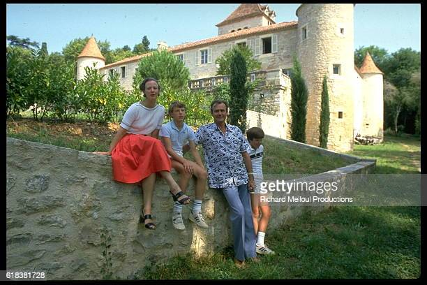 Danish Royal Family on Vacation in Caix
