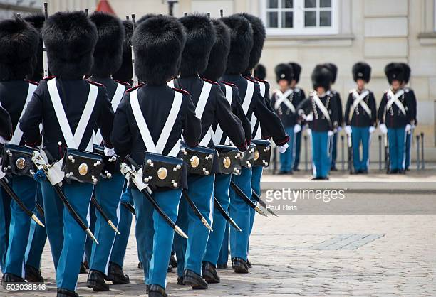 Danish royal guard, Copenhagen, Denmark