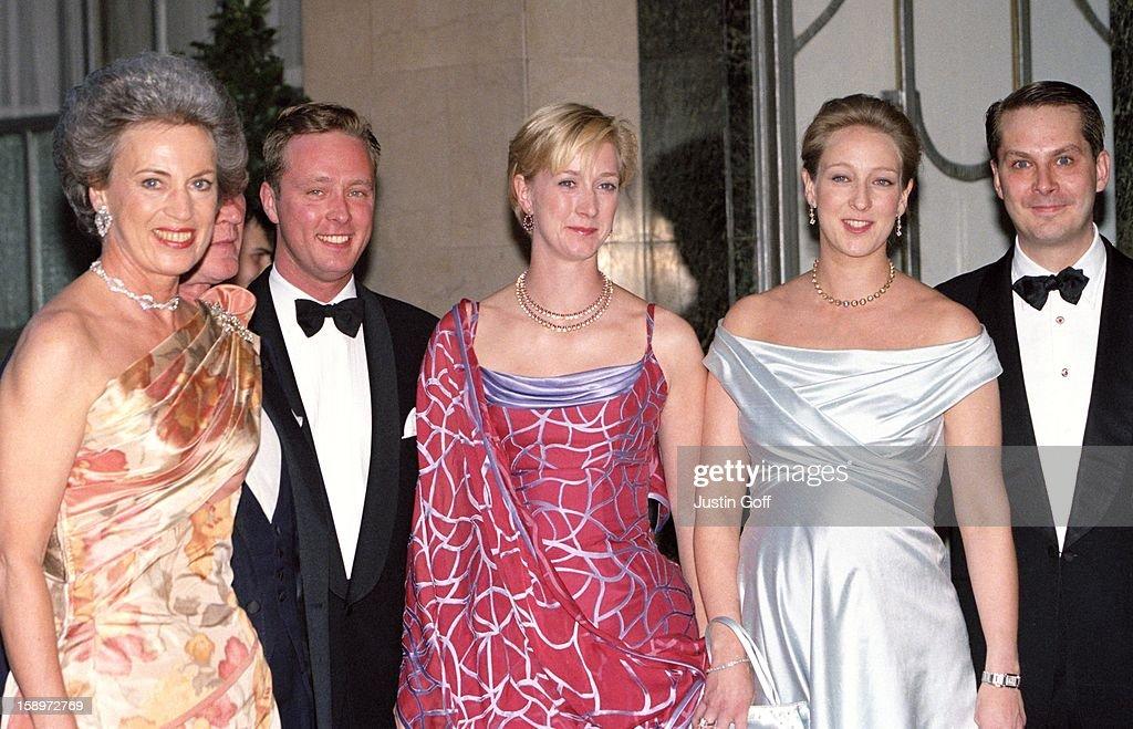 Greek Royal Wedding Gala : News Photo