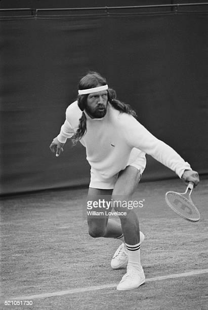 Danish tennis player Torben Ulrich at the Wimbledon Tennis Championships London 24th June 1970