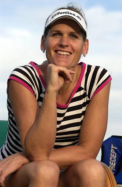 Transsexual professional golfer