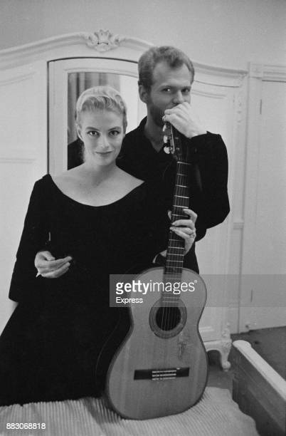 DanishDutch popular singing duo Nina Frederik UK November 1960