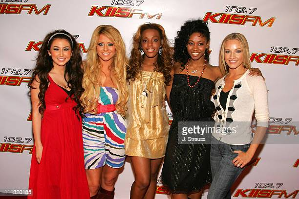 "Danity Kane during 102.7 KIIS FM ""Jingle Ball"" 2006 at Honda Center in Anaheim, California, United States."