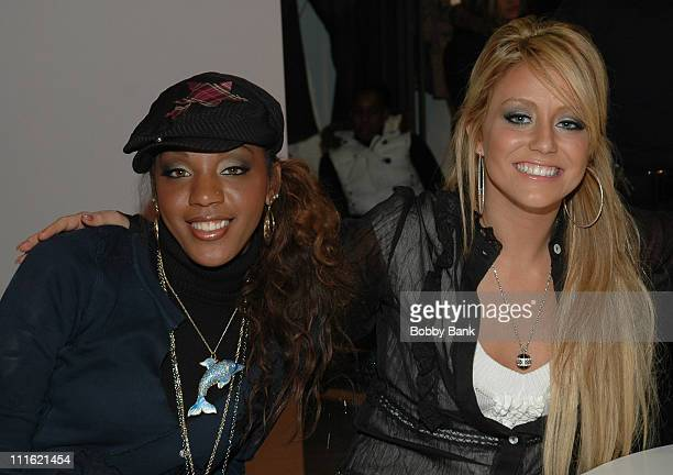 Danity Kane during Danity Kane of MTV's Making of The Band 3 Appear at Nordstrom at Nordstrom in Paramus New Jersey United States