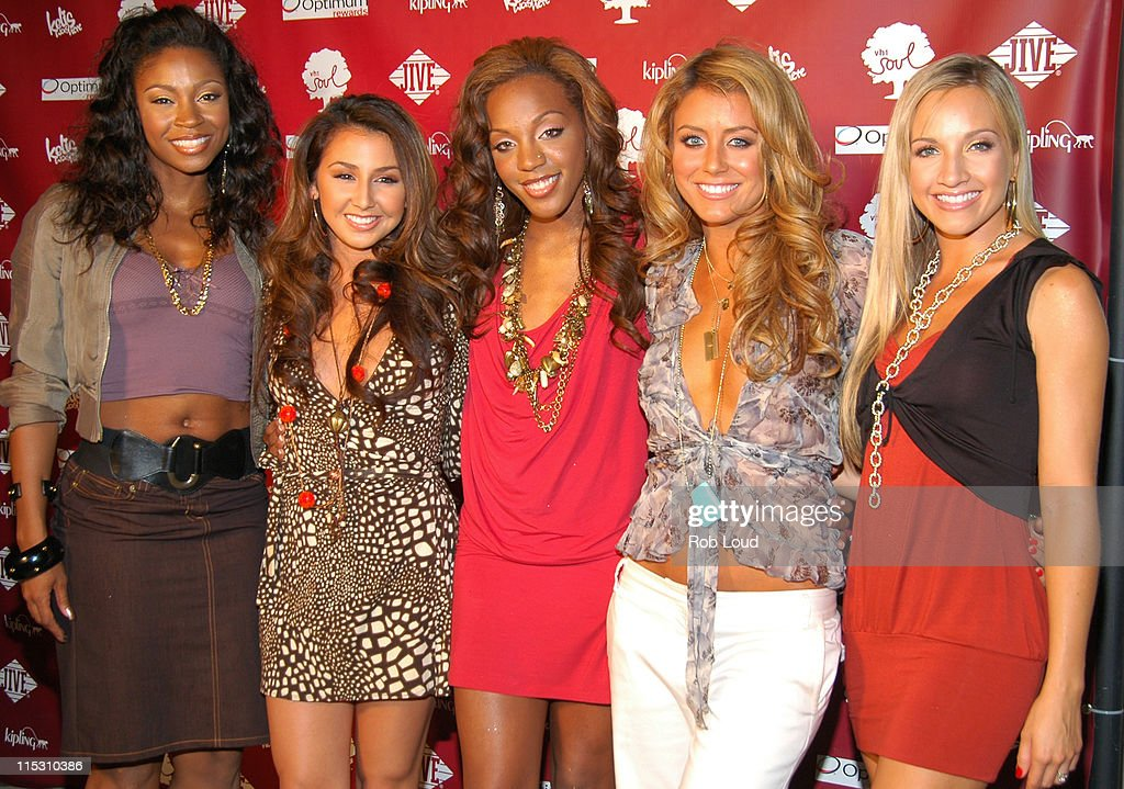 Danity Kane during Kelis and VH1 Soul Present: The Summer of Soul Party at Crobar in New York City, New York, United States.