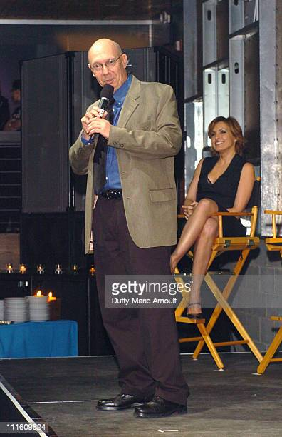 Dann Florek and Mariska Hargitay during Safe Horizon presents In Our Own Words with Law and Order SVU at Crobar in New York City New York United...