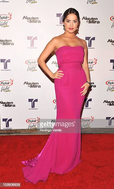 Danna Garcia attends a screening of Telemundo's 'Alguien Te Mira' at The Biltmore Hotel on September 7 2010 in Coral Gables Florida