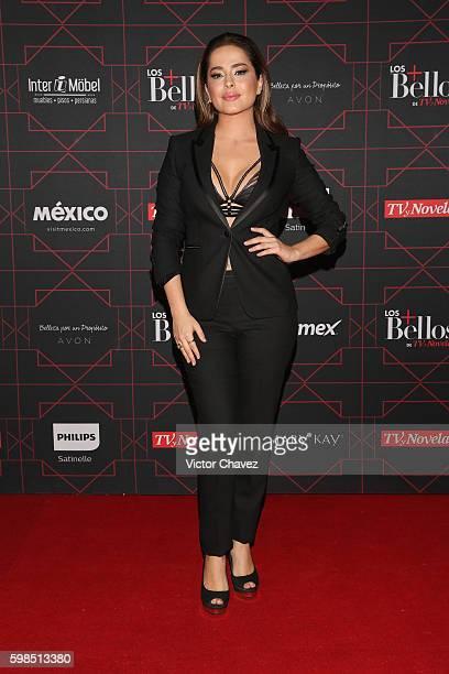 Danna Garcia attends Los + Bellos de TvYNovelas 2016 at Bosque de Chapultepec on August 31, 2016 in Mexico City, Mexico.