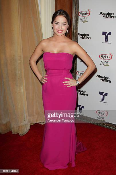 Danna Garcia attends screening of Telemundo's Alguien Te Mira at The Biltmore Hotel on September 7 2010 in Coral Gables Florida