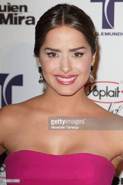Danna Garcia attends screening of Telemundo's 'Alguien Te Mira' at The Biltmore Hotel on September 7 2010 in Coral Gables Florida