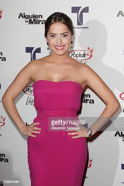 Danna Garcia attends screening of Telemundo's Alguien Te Mira at The Biltmore Hotel on September 7 2010 in Coral Gables Florida