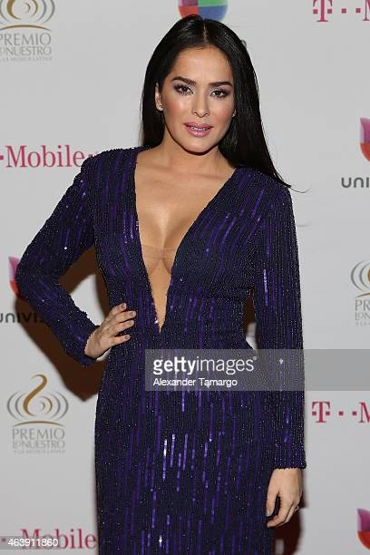 Danna Garcia attends the 2015 Premios Lo Nuestros Awards at American Airlines Arena on February 19, 2015 in Miami, Florida.