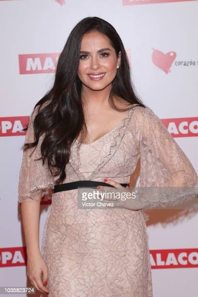 "Danna Garcia attends the ""Malacopa"" Mexico City premiere at Cinepolis Plaza Carso on September 18, 2018 in Mexico City, Mexico."