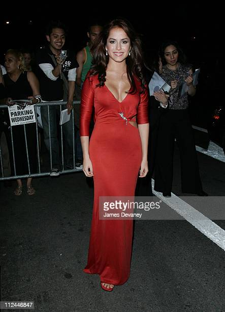 """Danna Garcia during People en Espanol's 5th Annual """"50 Most Beautiful"""" - Outside Arrivals at Skylight Studios in New York City, New York, United..."""